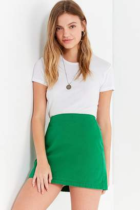 Urban Outfitters Structured Pelmet Mini Skirt