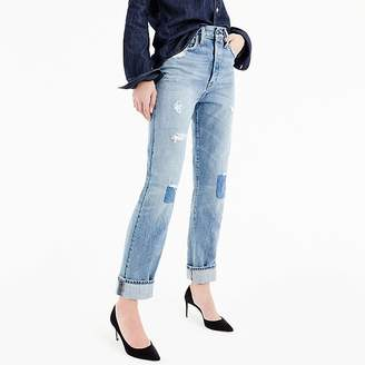 J.Crew Point Sur high-rise boyfriend jean in Bellows wash