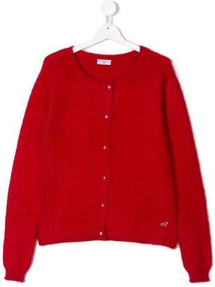MonnaLisa TEEN buttoned cardigan
