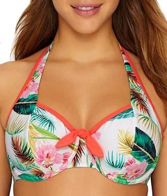 Pour Moi? Pour Moi Tropics Halter Bikini Top