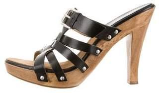MICHAEL Michael Kors Platform Leather Sandals