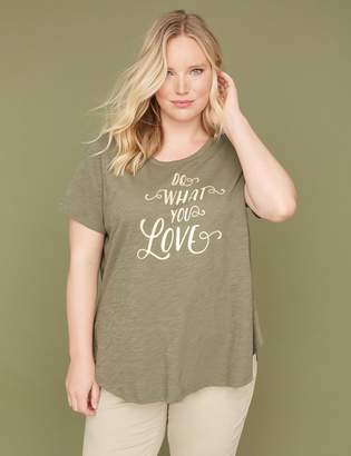 Lane Bryant Do What You Love Graphic Tee