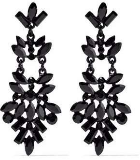 Crystal Enamel Earrings