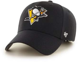 '47 Forty Seven Pittsburgh Penguins Curved Visor Velcroback Cap NHL Limited Edition