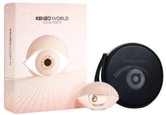 Kenzo World Eau de Toilette 50ml & Pouch Gift Set - Pink