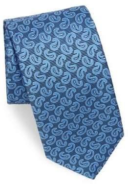 Eton Pine Paisley Silk Tie
