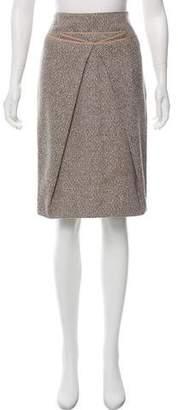 Salvatore Ferragamo Knee-Length Wool Skirt