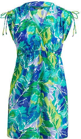 Ralph Lauren Lauren Tropical-Print Cover-Up
