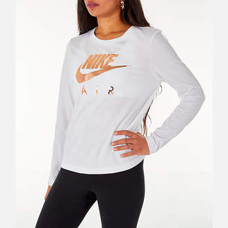 Nike Women's Sportswear Air Long-Sleeve T-Shirt