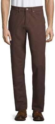 Black & Brown Black Brown Moleskin Five-Pocket Pants