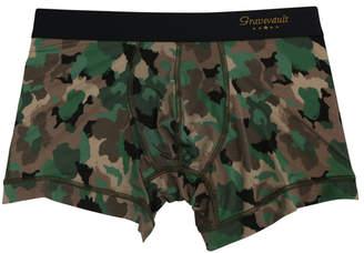 """Gravevault (グレイブボールト) - Gravevault ボクサータイプアンダーウェア 3051492 """"Jungle camo Short Boxer"""""""
