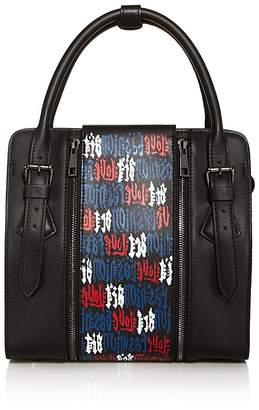 Love x Fashion x Art LFA Small Leather Satchel