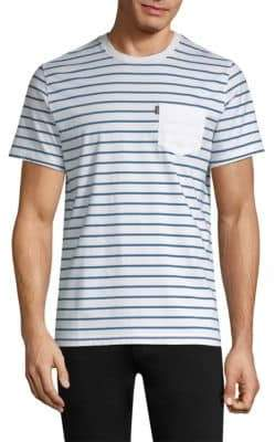 Barbour Nautical Tow Striped Cotton Tee