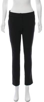 Burberry Low-Rise Straight-Leg Pants