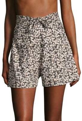 Zimmermann Cherry Tie Shorts