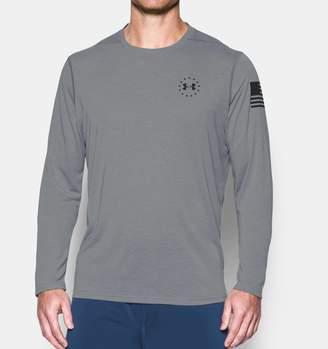 Under Armour Men's UA Freedom UA Threadborne Siro Long Sleeve T-Shirt