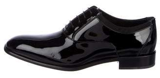Salvatore Ferragamo Aiden Patent Leather Oxfords w/ Tags