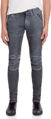 G Star Raw 3D Zip Knee Super Slim Jeans