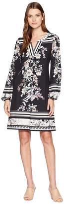 Hale Bob Chart Topper Matt Microfiber Jersey Emmabeth Dress Women's Dress