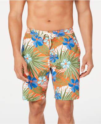 """Tommy Bahama Men Baja Prickly Pear Tropical-Print 9"""" Board Shorts"""