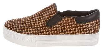 Ash Houndstooth Slip-On Sneakers w/ Tags