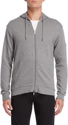 Armani Jeans Grey Full-Zip Hoodie