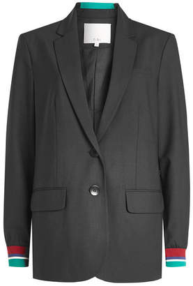 Tibi Blazer with Statement Cuffs