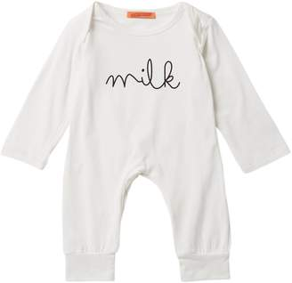 Funkyberry Milk Coverall (Baby & Toddler Girls)