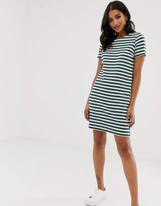 Vila Stripe t-shirt dress
