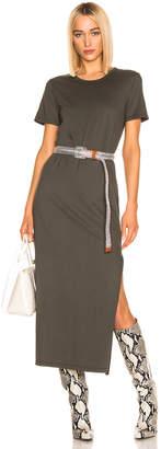 AG Adriano Goldschmied Alana Dress in Ash Green   FWRD