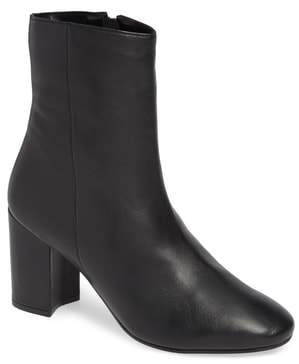 Topshop Elise Leather Bootie