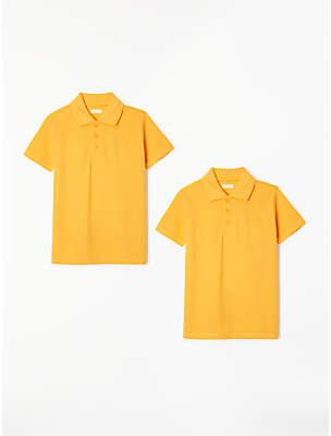 cd29e2197 John Lewis & Partners Unisex Pure Cotton Easy Care School Polo Shirt, ...