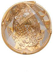 Daniela Swaebe Diamond and Crystal Tiger Ring