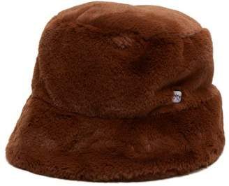 c3426f1c1fc Filù Hats Filu Hats - Madison Faux Fur Hat - Womens - Brown