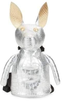 KENDALL + KYLIE Normie Embossed Metallic Bunny Backpack