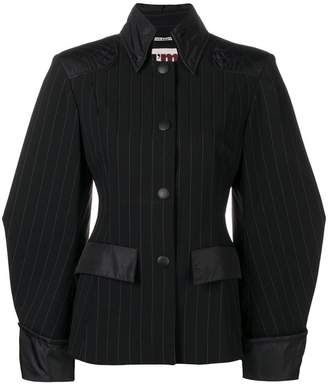 I'M Isola Marras pinstripe fitted jacket
