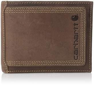 Carhartt Men's Top Grain Leather Passcase Wallet