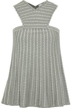 M Missoni Metallic Stretch-Knit Top