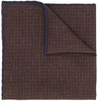 Eleventy polka dotted print scarf