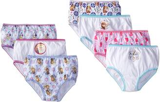 Disney Handcraft Little Girls' Frozen 7 Pack Panty