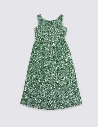 Marks and Spencer Sequin Maxi Dress (3-16 Years)