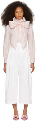 Marc Jacobs White Belted Jeans