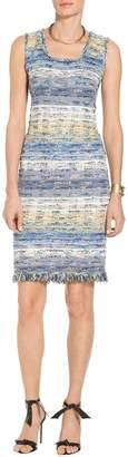 St. John Chelsea Tweed Knit Dress