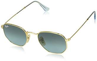 Ray-Ban RDYQ9) RB3548N Hexagonal Flat Lenses Sunglasses Rectangular