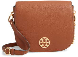 Tory Burch Everly Leather Flap Saddle Bag
