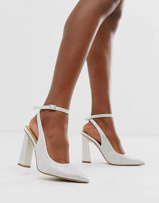 fe7662d120 Asos Design DESIGN Precious premium embellished high heels