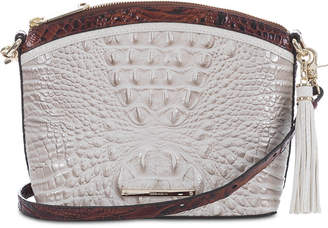 Brahmin Duxbury Embossed Leather Shoulder Bag