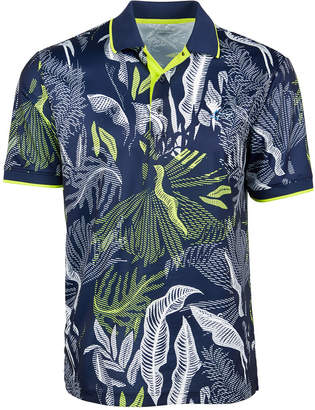 Greg Norman Attack Life by Men Melwood Abstract Floral-Print Shirt