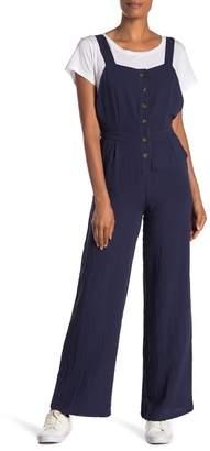 Style Rack Button Up Jumpsuit