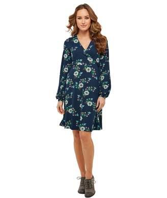 6697cc1bc4a Joe Browns Long-Sleeved V-Neck Floral Print Dress